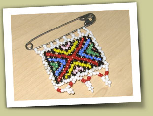 beaded zulu love letter